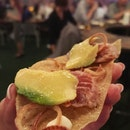 Tostada de Atun ($15++ for 2)