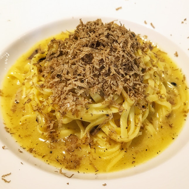 The Tagliolini Truffle Uncinato - Go Get Some Before It Goes! ($38++)