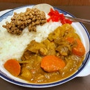 Natto Beef Curry Rice