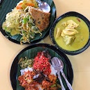 """Mondays Are Quiet At This Hawker Centre But """"Sinar Pagi Nasi Padang"""" Is Open - Yay!!"""