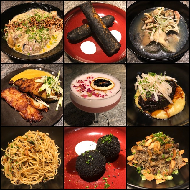 NEW MENU of French-Japanese Cuisine