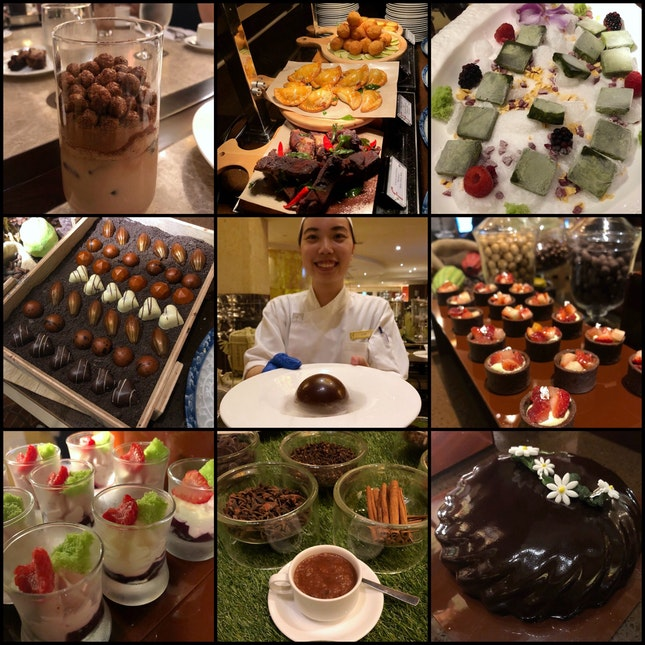 Fullerton Hotel's Well Known Chocolate Buffet Has Been Refreshed