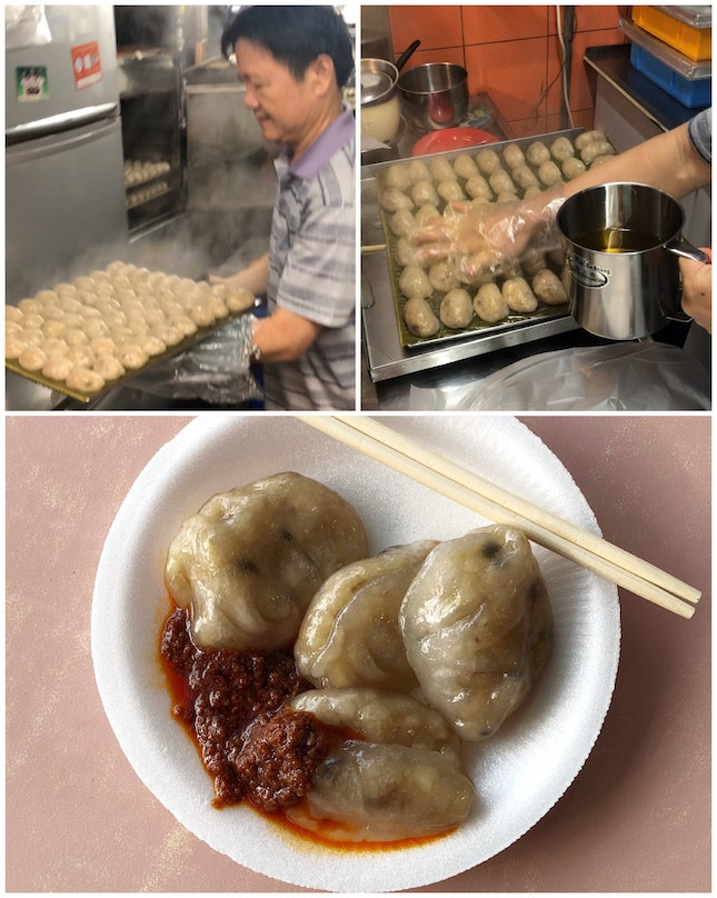 My Childhood Favourite: 水晶包 From The Old Tiong Bahru Market