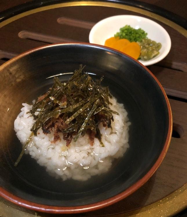Wagyu Ochazuke ($18++)