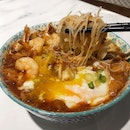 """This Cafe Serves Local Delights Such As A """"Wet"""" Mee Siam (Price: $8.50)"""