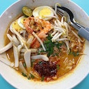 Famous Sungei Road Trishaw Laksa (Hong Lim Market & Food Centre)
