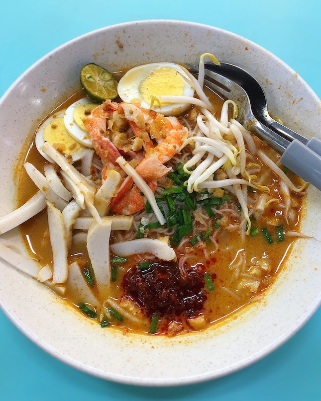 The Broth Of The Mee Siam Is What Keeps Me Returning