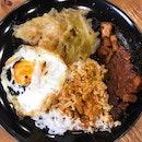 Hainanese Curry Rice Set with Braised Pork Belly ($5.80 nett)