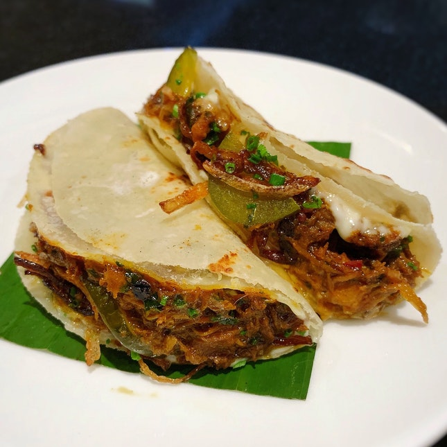 Chettinad Chicken Roti (2 for $16++)