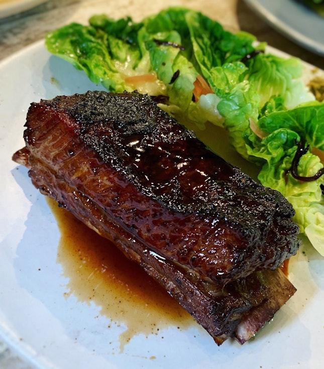 Beef Short Ribs & Burnt Soy ($29.90)