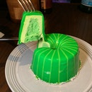 Pandan Mousse Cake - A Level Up From The Usual