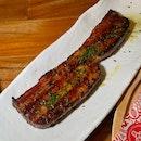 Damn Good Bacon Steak ($12++)