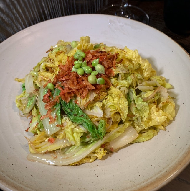 A Flavourful Style Of Serving Napa Cabbage ($26++)