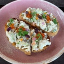 The Norwegian Red King Crab Toast Appetiser Is Huge And Very Good!