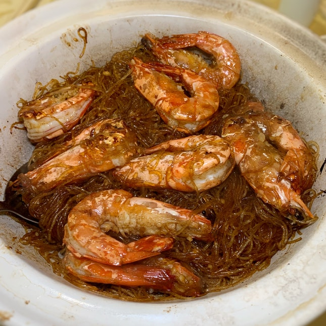 A Taste Of Old That I Was Too Happy To Rediscover: Prawns with Vermicelli ($68++)