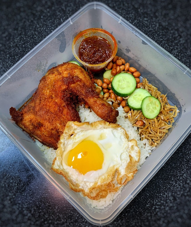 Have This Iconic Nasi Lemak In The Comfort Of Home.