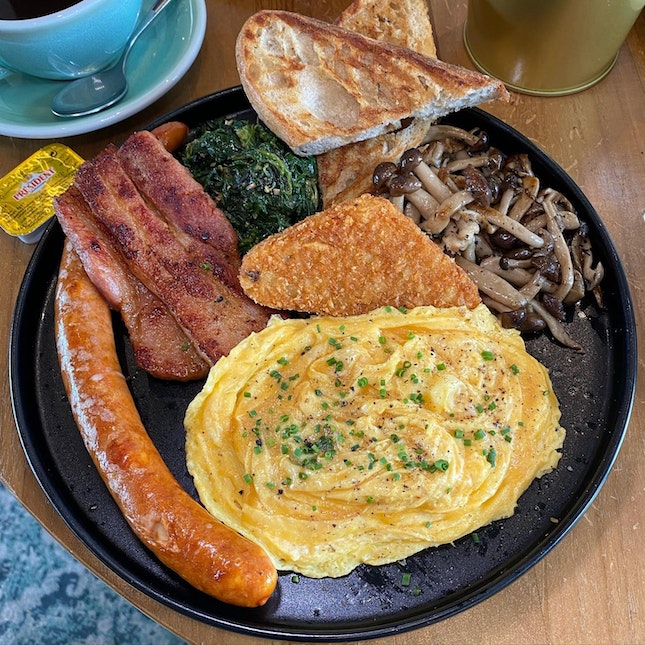 A Hearty Choice - The Brewer's Breakfast ($26++)