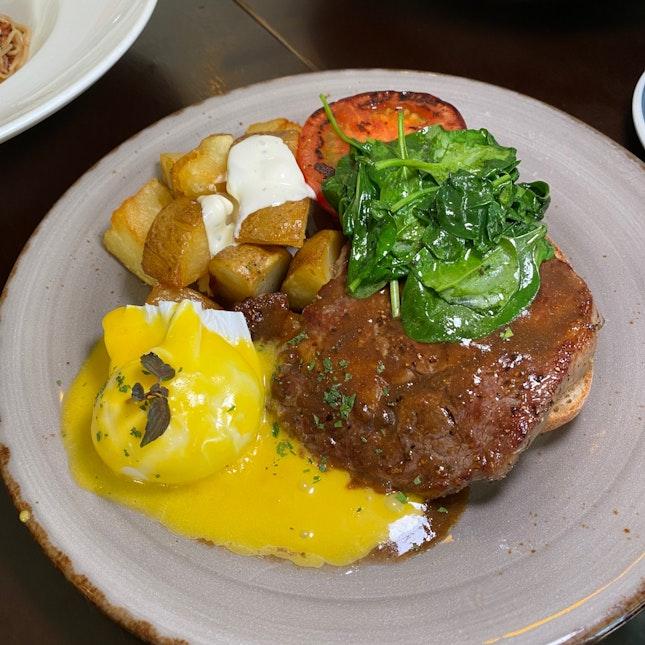 Steak & Egg ($22+)