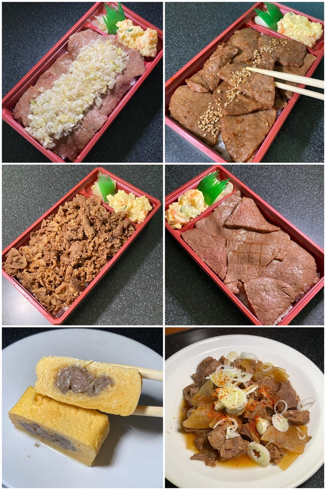 Love The Authentic Charcoal-Grilled Yakiniku Bento Boxes.