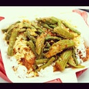decided to go #vege after #gym.