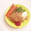 yesterday's early #dinner after the game; Ah Lian Bee Hoon.