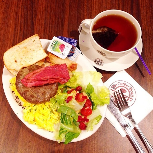 The Ultimate Breakfast by Coffee Bean & Tealeaf.