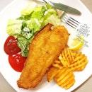 Fish n Chips after last week's work.