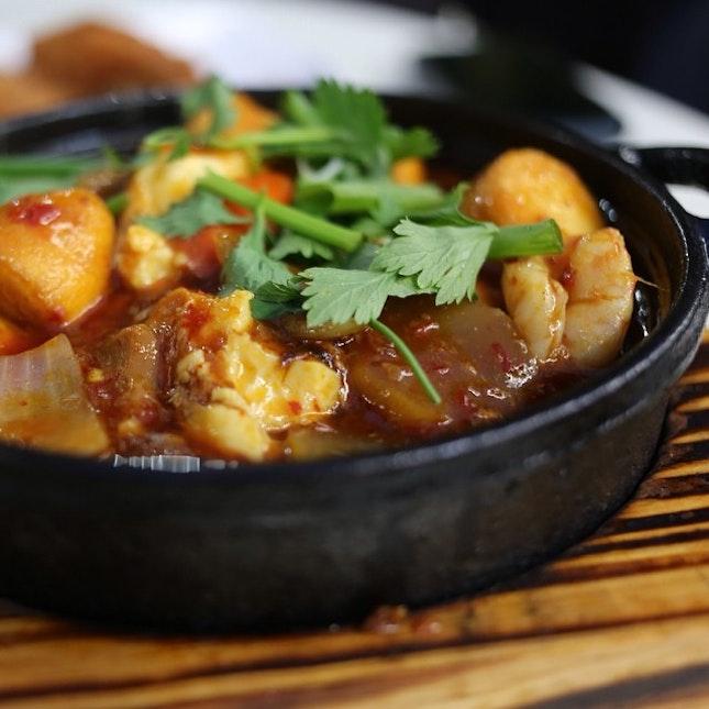 Hot Plate Tofu.