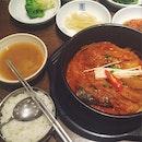 Steamed Kimchi with Mackerel (고등어김치찜)