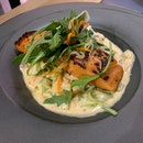 Salmon And Spinach Tagliatelle ($27++)