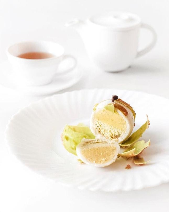Lybi •SGD 15.80 Takeaway/SGD 24.80 Tea Pairing• • Wasabi as desserts ??