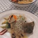 Barramundi Fish & Lobster Pasta