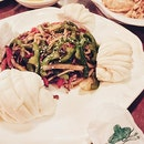 Fav dish of the night •Go chu jab chae• #gochujabchae#pork#bunsofluffy#korean#cusine#foodporn#potd#instafood#foodie#burpple#sg