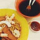 Prawn Noodles Meee Pok