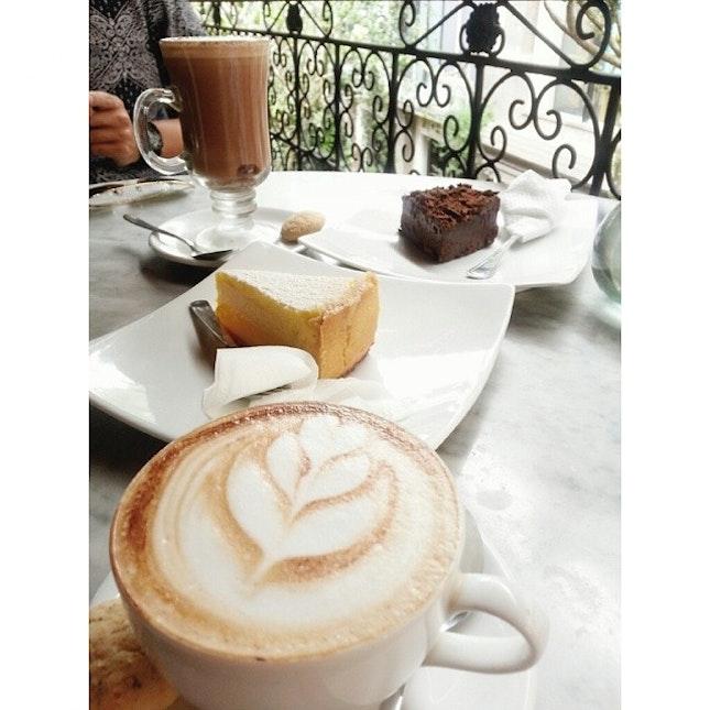 The best coffee we've had in Bali so far.
