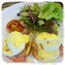 Surprised to find eggs benedict here at S$8.80++!