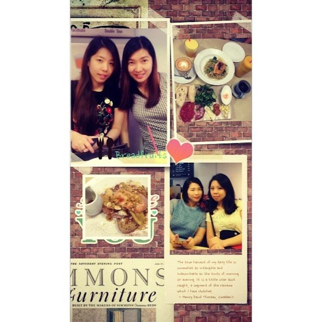 #birthday #brunch #breadfruits #thanks #sister #muaks 😘😘😘🎂