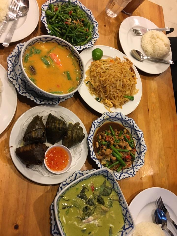 thai food 👅👅👅