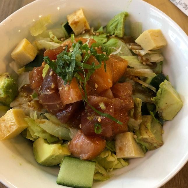 wasabi poke bowl