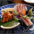 Sea Urchin & Hamachi Sashimi