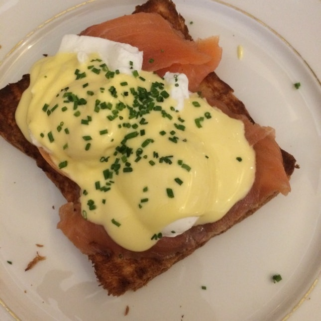 Smoked Salmon Egg Ben