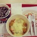 KFC Rice Bucket Meal
