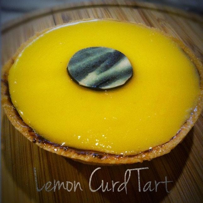 Lemon Curd Tart!
