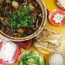 Spicy Chicken Claypot Steamboat ($51.90) w @hellofelly @imbrynlee 😋#igsg #sgfood #qiweijibao #burpple #rachfoodadventure