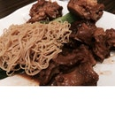 Pig's Trotter In Red Fermented Beancurd Noodle