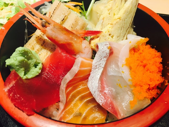 Sashimi, Sushi & Seafood