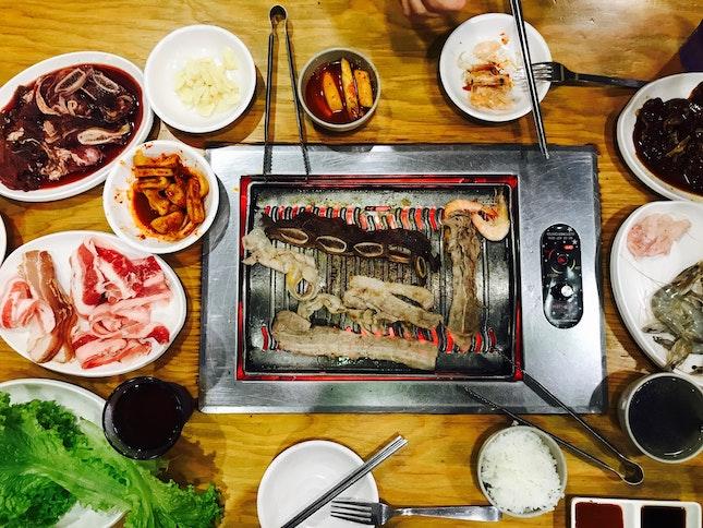 Cheap & Good Korean BBQ In Jurong East