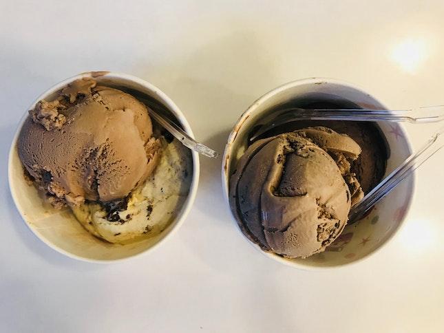 Freshly-Made Ice-Cream