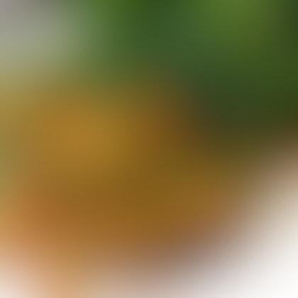 Deep Fried Basil With Century Egg