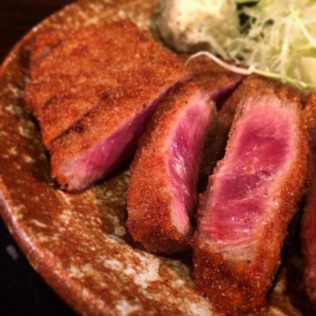 #beef #katsu #japanese #food #foodie #foodporn #travel #nofilter  Always go somewhere  Fantastic.